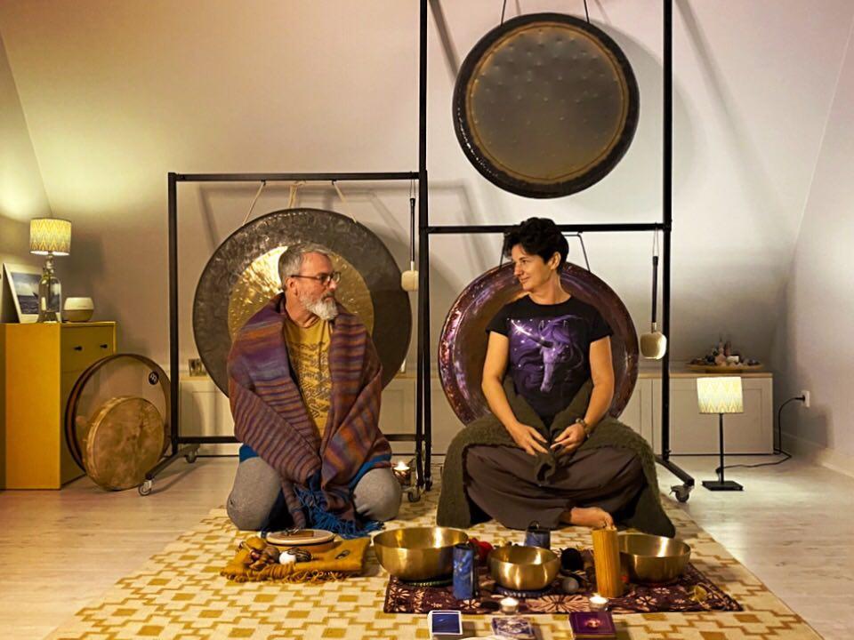 Koncert gongów w Pracowni Mistrza