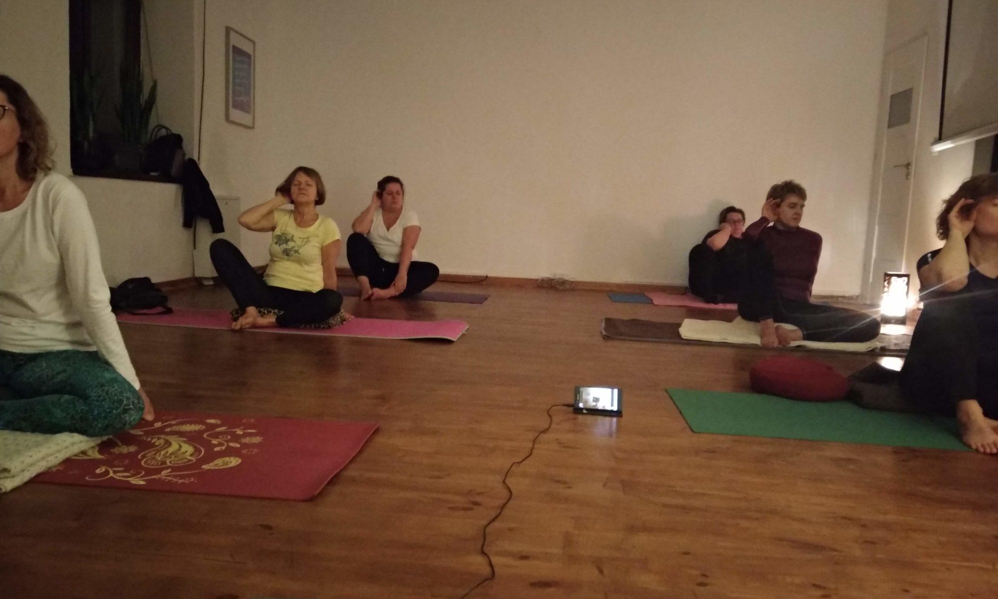 medytacja boskiej tarczy dla ochrony i pozytywności